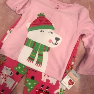 Brand new sleepwear set 2 pc 2T